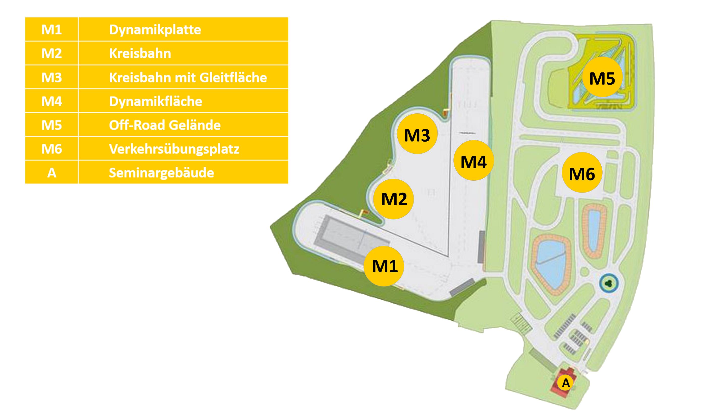 ADAC Fahrsicherheitsanlage Kiel-Boksee